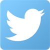 Twitter logo as mobile icon