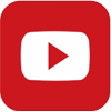YouTube logo as mobile icon