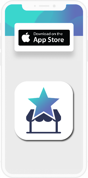 Image showing screen display with Coovy Business App Icon